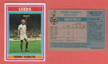 Leeds United Terry Yorath Wales 242